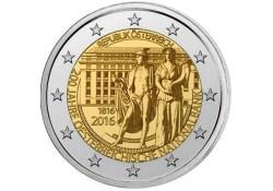 2 Euro Oostenrijk 2016 200 jaar Nationale bank Unc