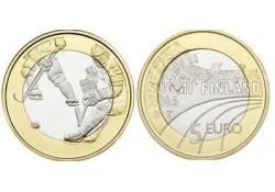 "Finland 2016 5 euro  ""Yshockey"" Unc"