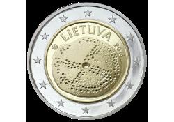 2 Euro Litouwen 2016 Litouwse Cultuur Unc