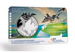 Nederland 2016 het Waddenvijfje Bu in coincard Voorverkoop*