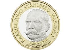 Finland 2016 5 euro  Kaarlo Juho Stahlberg Unc