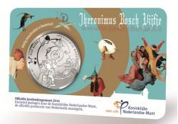 Nederland 2016 het  Jheronimus Bosch Vijfje unc in coincard Voorverkoop*