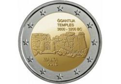 2 Euro Malta 2016 Unc Ggantija tempel .