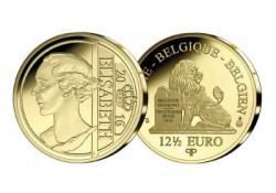 België 2016 12½ euro Koningin Elisabeth Goud