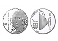 Portugal 2016 5 euro Cararina of Braganca Unc