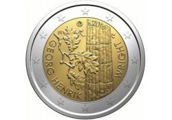 2 Euro Finland 2016 Georg Henrik von Whright Unc