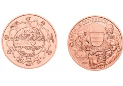 10 Euro Oostenrijk 2016