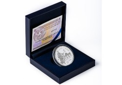 Spanje 2016 10 Euro Carlos III Zilver proof