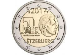 2 Euro Luxemburg 2017 50 jaar vrijwillige militaire dienst Unc