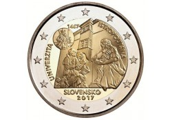 2 Euro Slowakije 2017 Universiteit Istropolitana