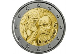 2 Euro Frankrijk 2017 Auguste Rodin Unc