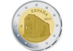 2 Euro Spanje 2017 Kerk van Santa Maria Unc