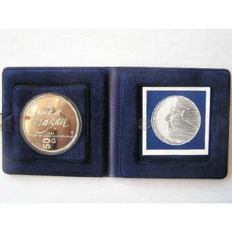 50 Gulden 1984 Guille de Nassau Proof
