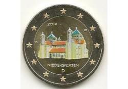 2 euro Duitsland 2014 Niedersachsen Gekl. Willekleurige Le