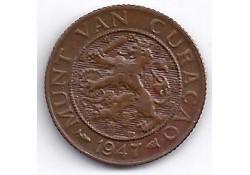 1 Cent Curacao 1947 PR