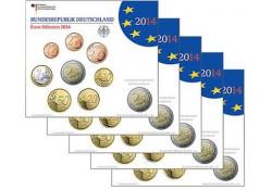 Bu sets Duitsland 2014 ADFGJ