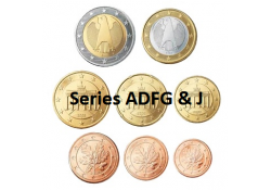 Series Duitsland 2014 ADFGJ UNC