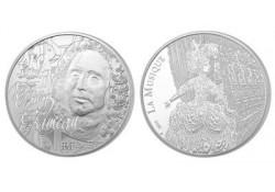 Frankrijk 2014 10 euro Proof JP Rameau in orig. doosje & certifi