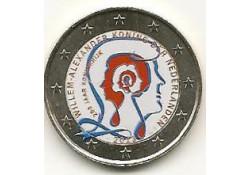 2 Euro Nederland 2013 200 jaar Koninkrijk Gekl. 190/GH059