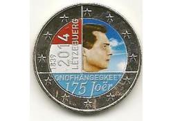 2 Euro Luxemburg 2014 175 jaar onafh. Gekl. GH 061