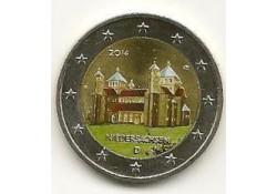 2 euro Duitsland 2014 Niedersachsen Gekl. letter  J GH062