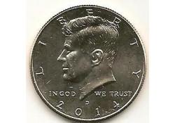 KM ??? U.S.A. ½ Dollar 2014 D UNC