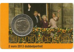Nederland 2013 2 Euro Beatrix & Alexander UNC In coincard