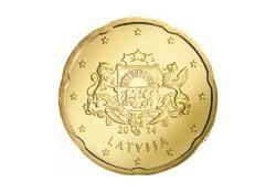 20 Cent Letland 2014 UNC