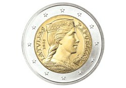 2 Euro Letland 2014 UNC