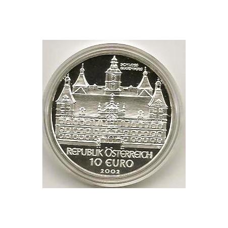10 Euro Oostenrijk 2002, Johannes Kepler Proof In orig dsje & ce