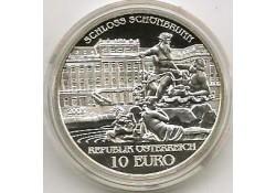 10 Euro Oostenrijk 2003, Schloss Schönbrunn Proof Incl dsje & ce