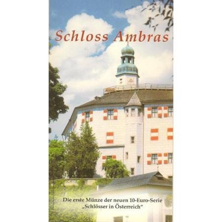 10 Euro Oostenrijk 2002, Schloss Ambras in blister
