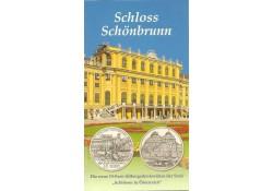 10 Euro Oostenrijk 2003, Schloss Schönbrunn in Blister