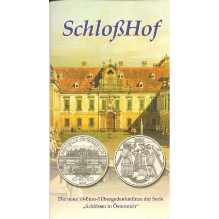 10 Euro Oostenrijk 2003, Schloss Hof in Blister