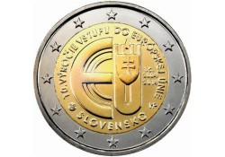 2 Euro Slowakije 2014 10 jaar Eu Unc