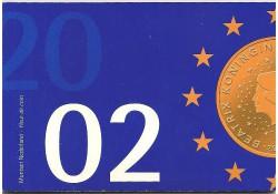 Nederland 2002 Fdc set met Euromunten