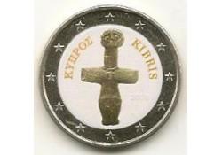 2 euro Cyprus 2008 gekleurd Type?