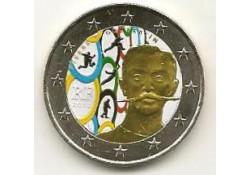2 Euro Frankrijk 2013 Coubertin Gekleurd 194-6