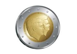 Nederland 2014 2 Euro Dubbelkop Alexander en Beatrix Unc