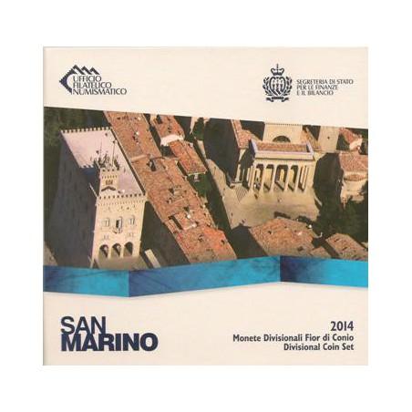 Bu set San Marino 2014 Met 8 Munten