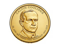 KM ??? U.S.A. 30 th President Dollar 2014 D Calvin Coolidge