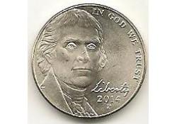 KM+381 U.S.A. 5 Cent 2014 P Unc
