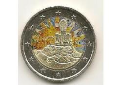 2 Euro Spanje 2014 Gaudi Gekleurd