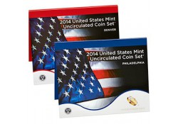 Uncirculated Coin Set 2014 D & P