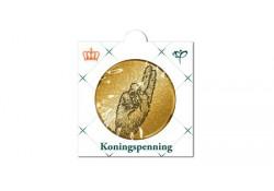 Penning Koningspenning 2014 special edition in messing