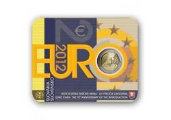 2 Euro Slowakije 2012 10 jaar Euro in blister