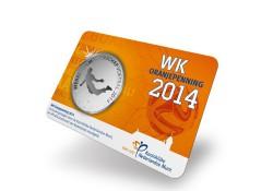 WK oranjepenning 2014 Zweefduik van Persie