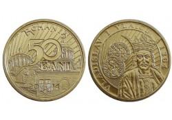 Km ??? Roemenië 50 Bani 2014 Unc  Vlaicu