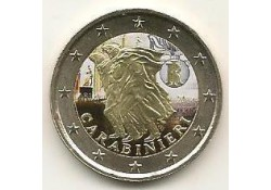 2 euro Italië 2014 Carabinieri  Gekleurd