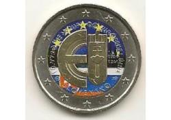 2 Euro Slowakije 2014 10 jaar Eu Gekleurd